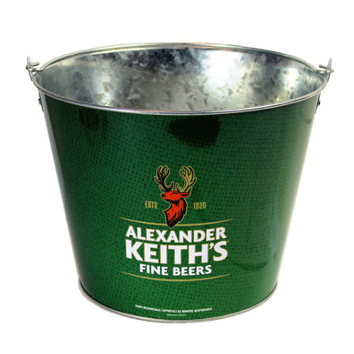 Alexander Keith's Green Ice Bucket