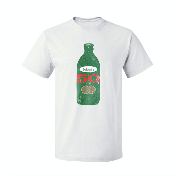 Labatt 50 Stubby Bottle T-Shirt