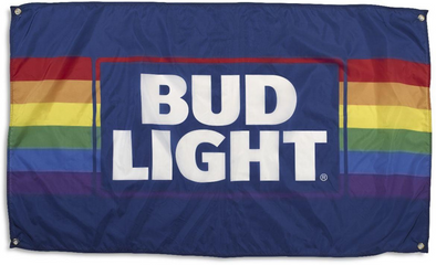 Bud Light Pride Flag (3ft x 5ft)