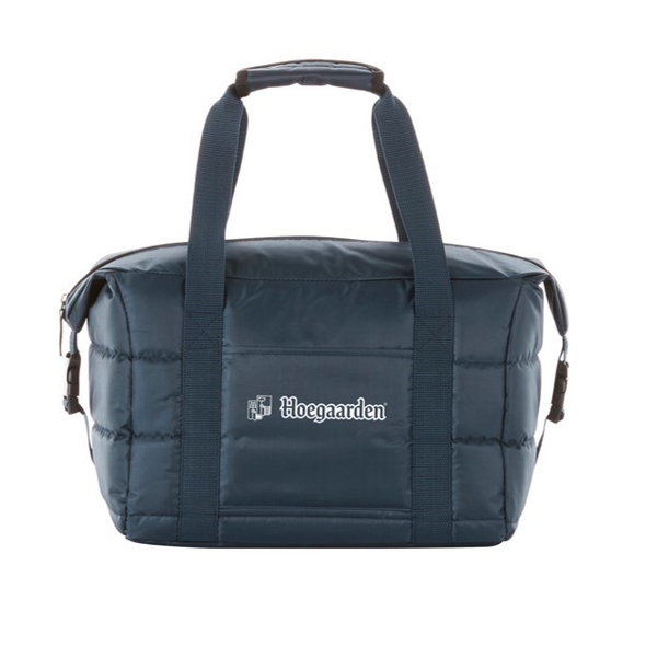 Hoegaarden Navy Quilted Cooler Bag