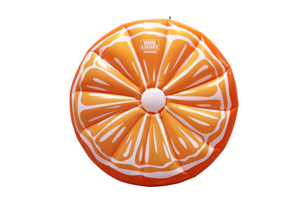 Bud Light Orange Floatie
