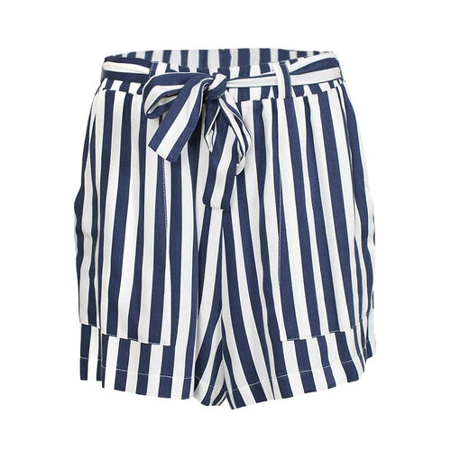 Blue Stripes Shorts