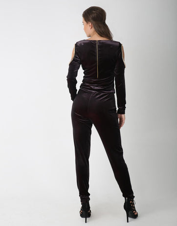 Cowl Neck Jumpsuit for Women