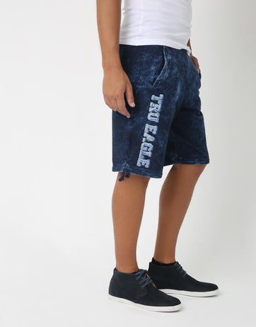 Randum Tru Indigo Shorts for Men