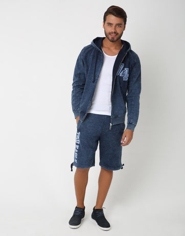 Kar Tru Indigo Shorts for Men