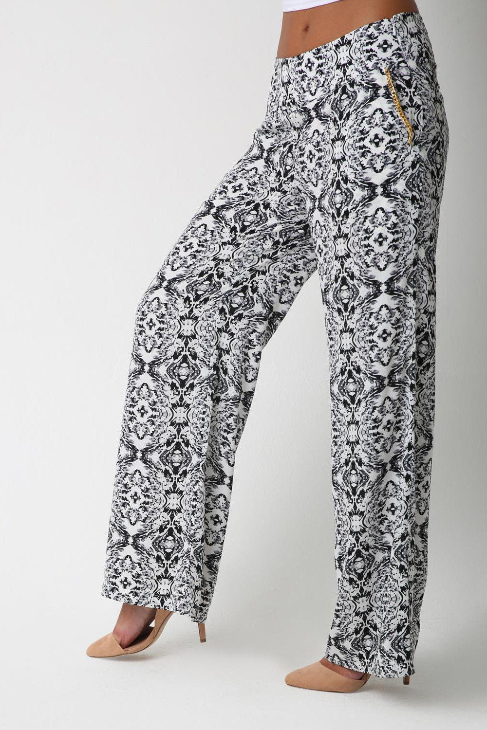 Illusion Print Mega Pants