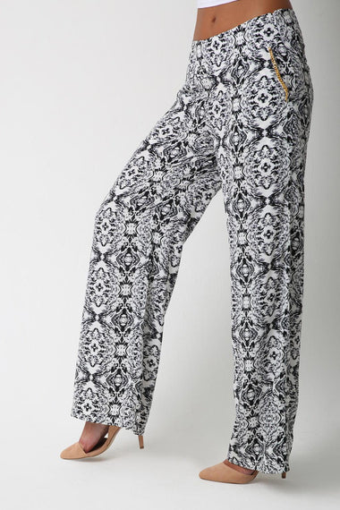Illusion Print Mega Pants for Women