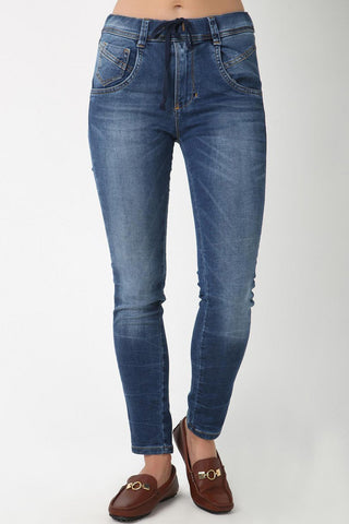 Relaxed J-Jaws Slim Fit Denims for Women