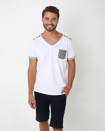 Casual V Neck Tee