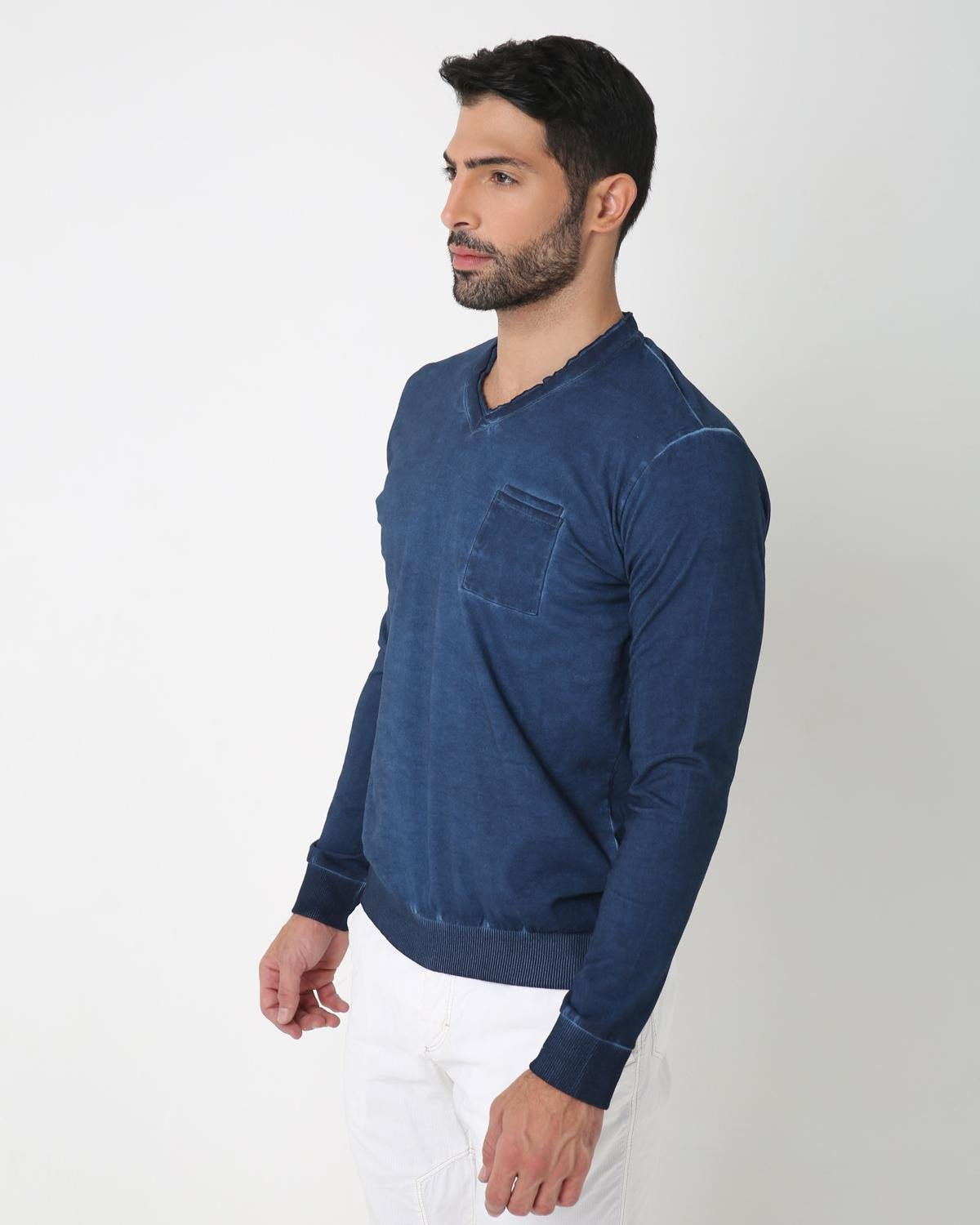 Casual Indigo T-Shirt