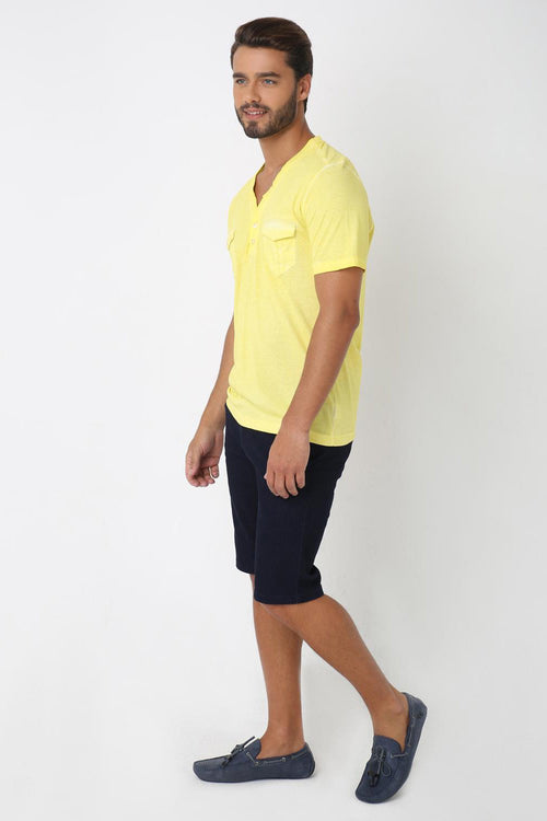 Summery Button Down T-shirt