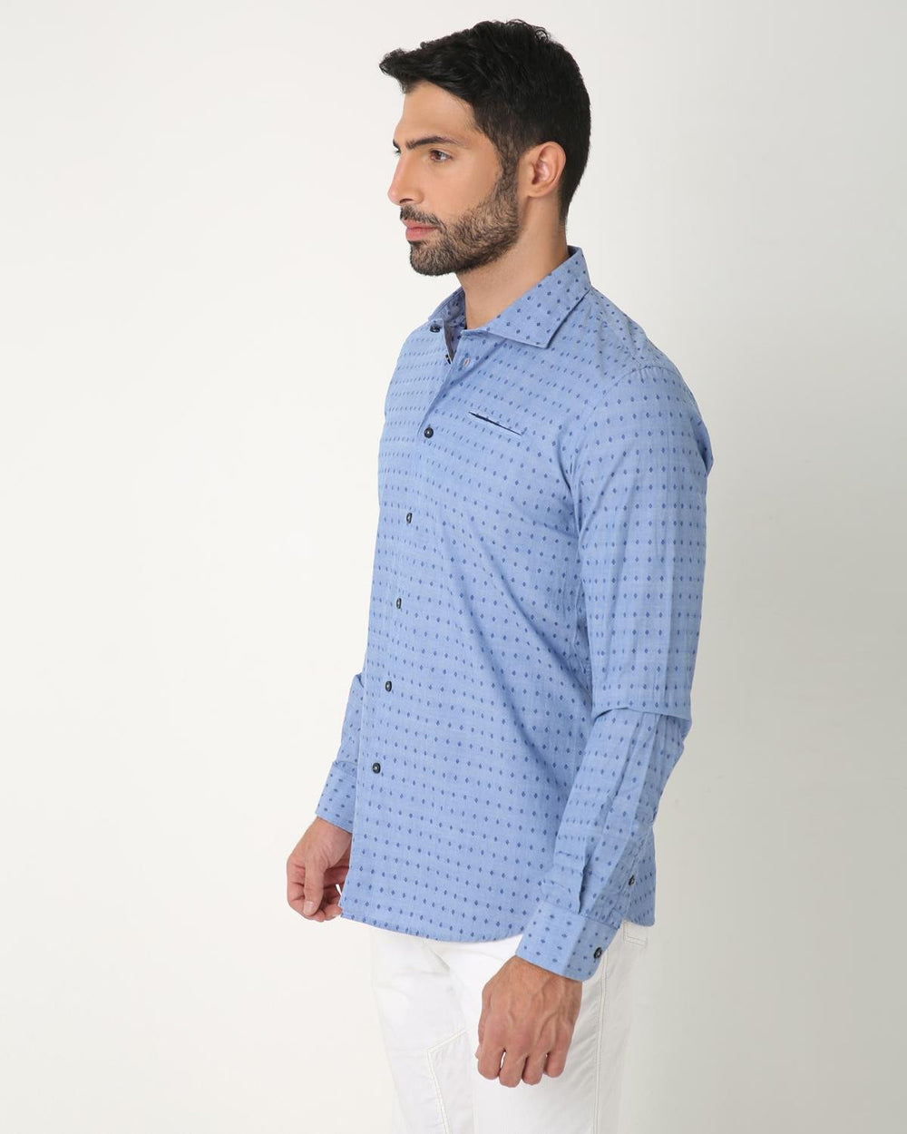 Blue Dotted Shirt, MASIMO