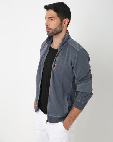 Grey Zip-Up Jacket