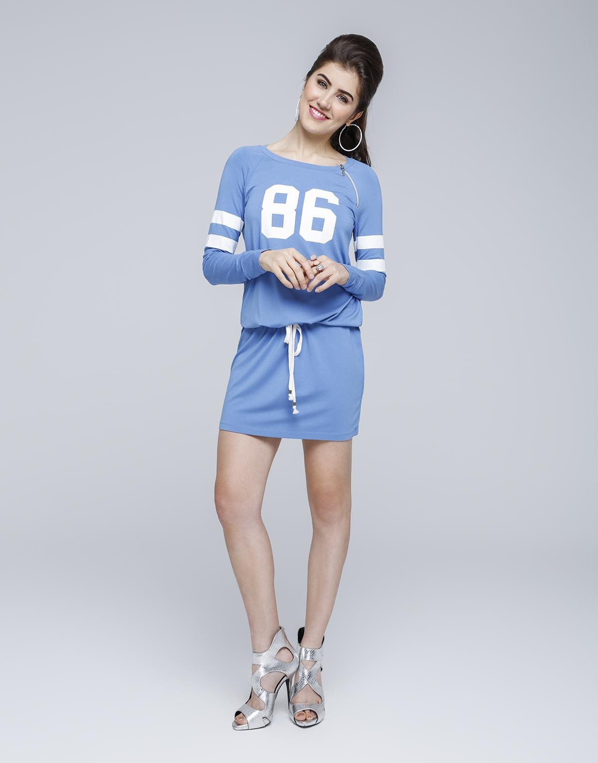 Sporty Dual Stripe Dress
