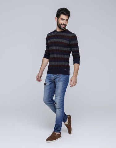 Trichromatic Pullover for Men