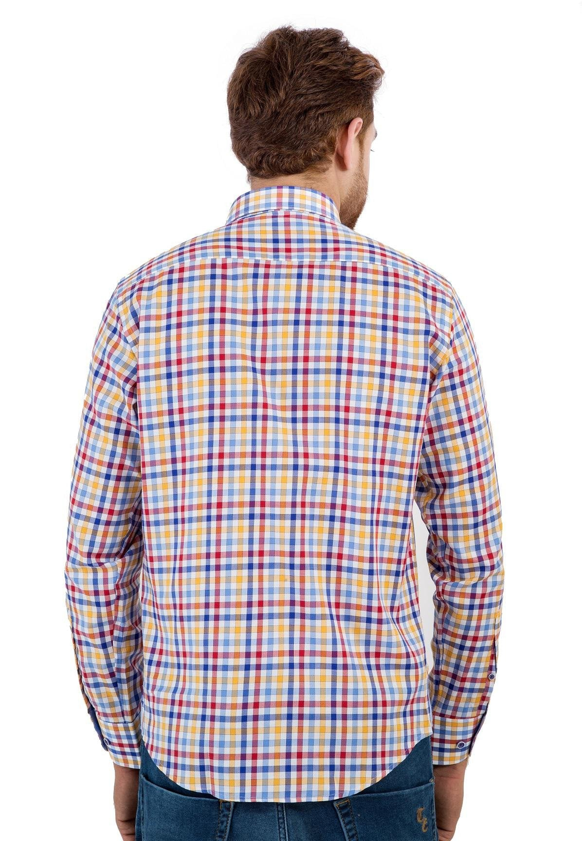 Colored Checkered Shirt