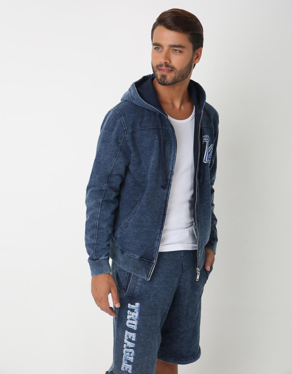 Kar Blue Chic Sweatshirt for Men