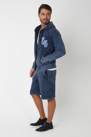 Randum Blue Chic TrackSuit For Men
