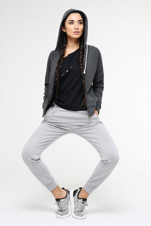 Cotton Tencel Jogging Trousers for Women