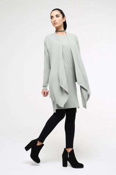Cowl Neck Wrap Cardigan for Women