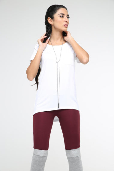 Modal Pocket T-Shirt for Women