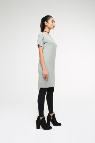 Modal T-shirt dress, SHADOW