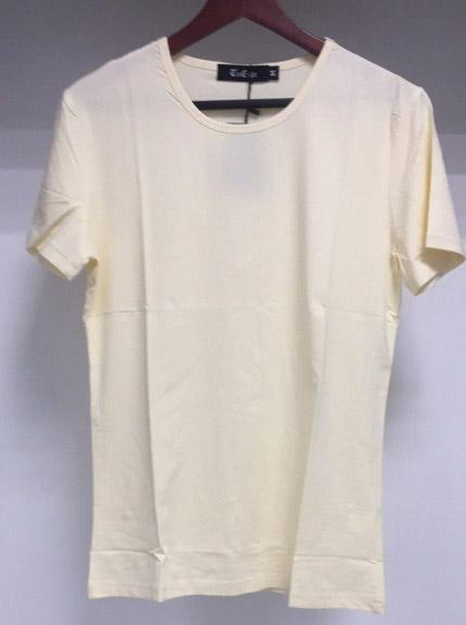 T/C Solid Color T-Shirt Knit (White)