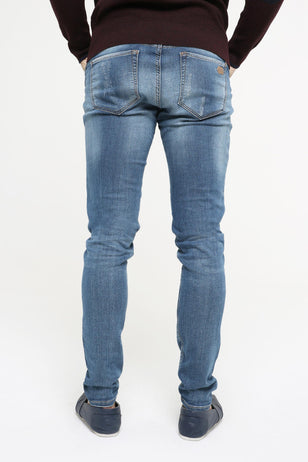 Patchwork Jeans for Men