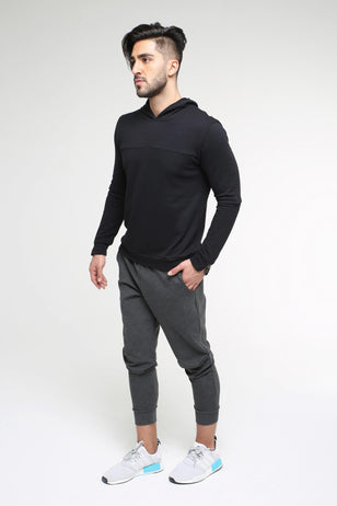 Double-faced Sweatpants, DARK GREY