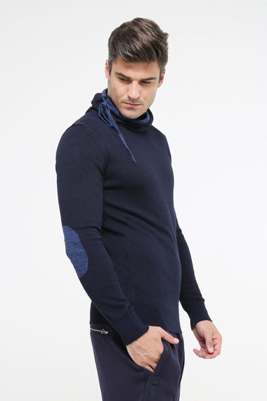 Rollneck Sweater (Navy)
