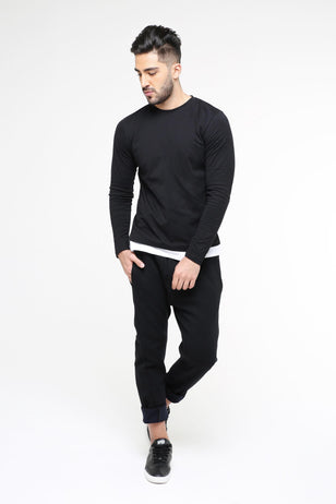 Jogging Trousers, BLACK