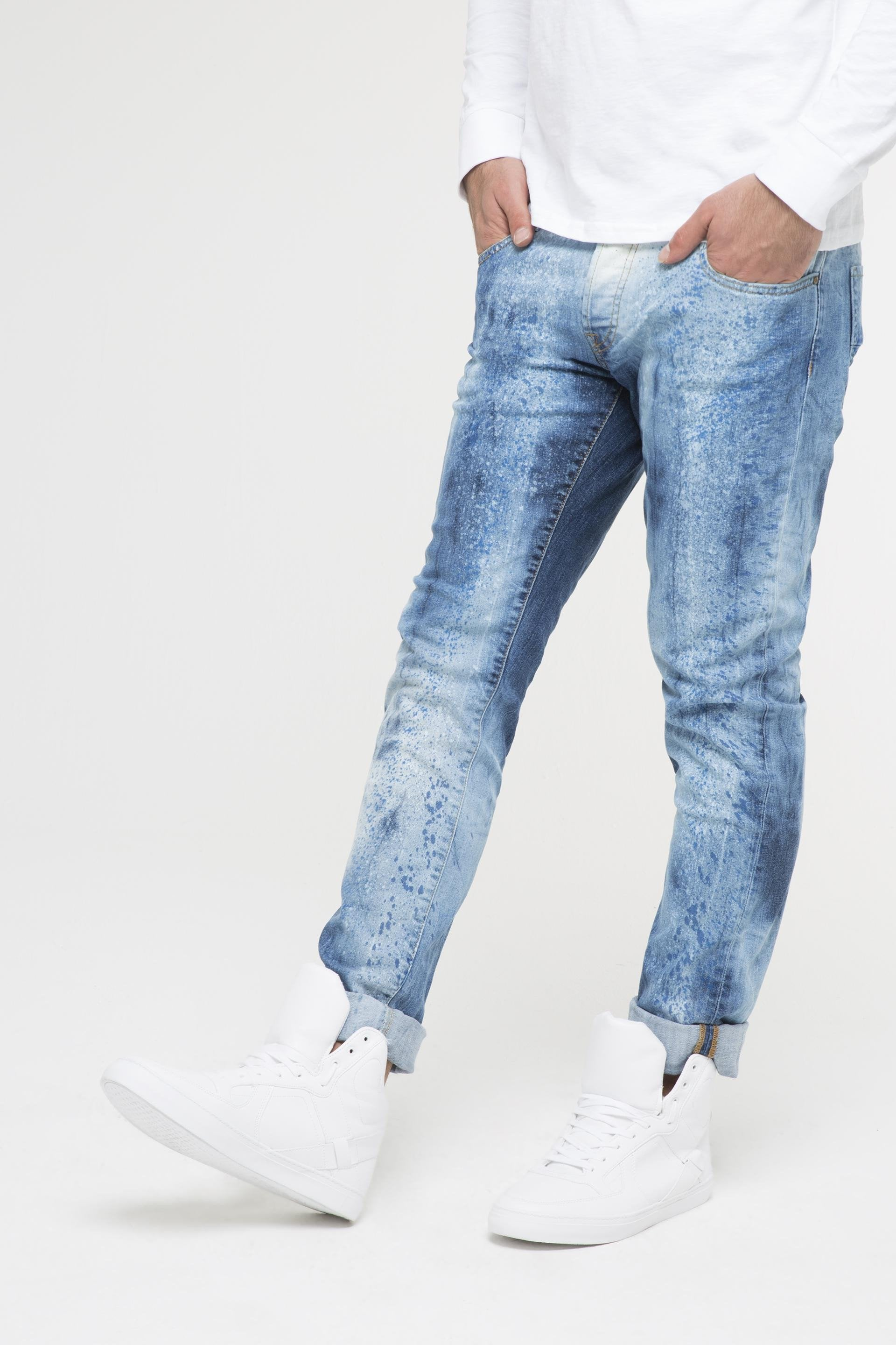 Splattered Paint Jeans