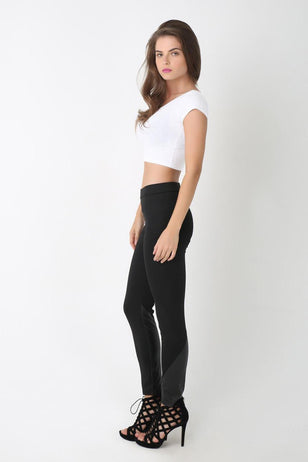 Classic Black Leggings, BLACK