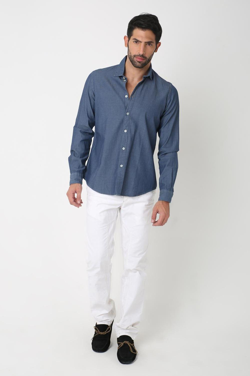 Plush Indigo Shirt, BLUE