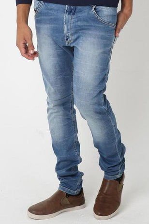Stone Washed J-Jaws Denim for Men