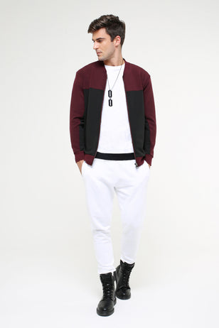 Double Faced Bomber Jacket