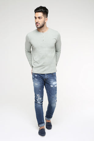 The Henley Long Sleeve T-Shirt