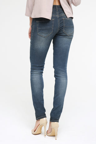 Mid Rise Jog Jeans for Women