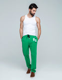 Side Seam Striped Pants for Men