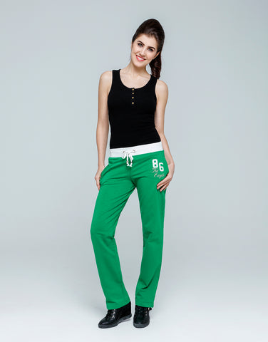 86 Dual Color Sweat Pants for Women