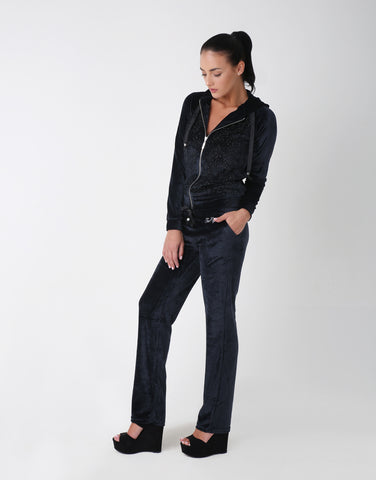 Starry Velour Tracksuit for Women