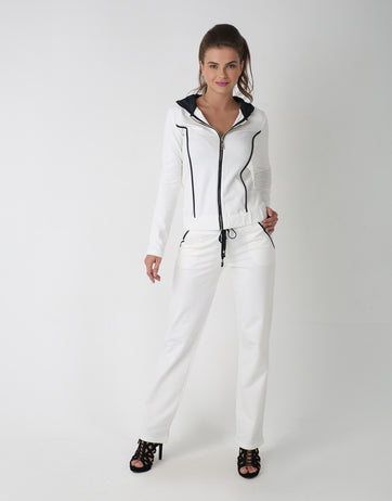 Glamourai Suit With Stripes for Women