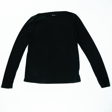 Stretch Boat Neck Sweater