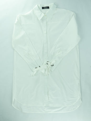 Pleated Shirt with Smart Cuffs