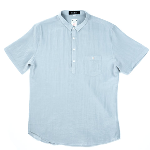 Solid Short Collar Shirt