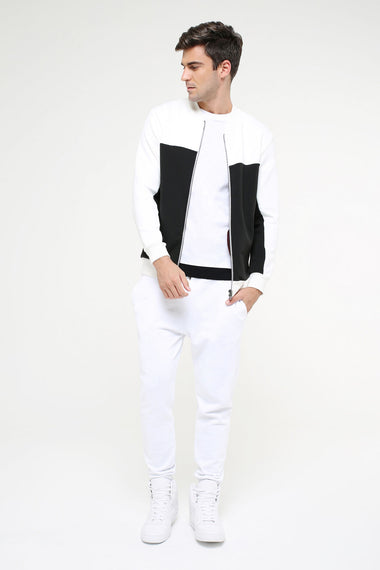 Double Faced Bomber Jacket for Men