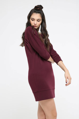 Casual Sweater Dress