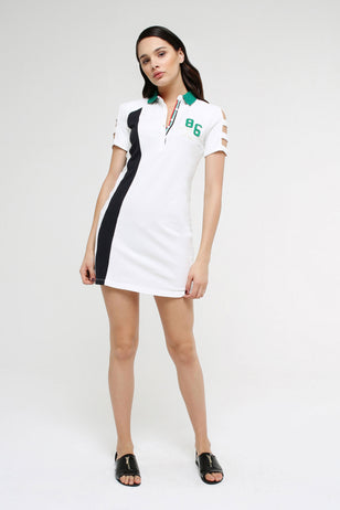 Mini Cotton Shirt Dress for Women