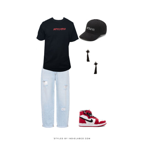 indie lab co streetwear outfit inspo women