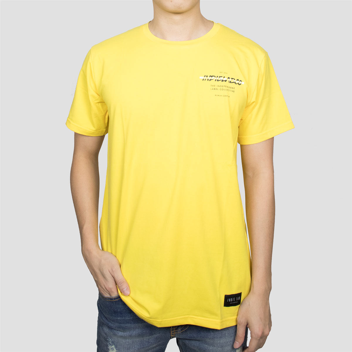 INDIELABCO AW18 BASIC T-SHIRT (YELLOW)